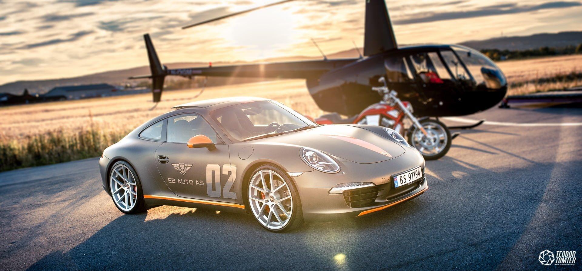 Bilfoto Porsche
